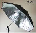 rps 43 in black silver unbrella