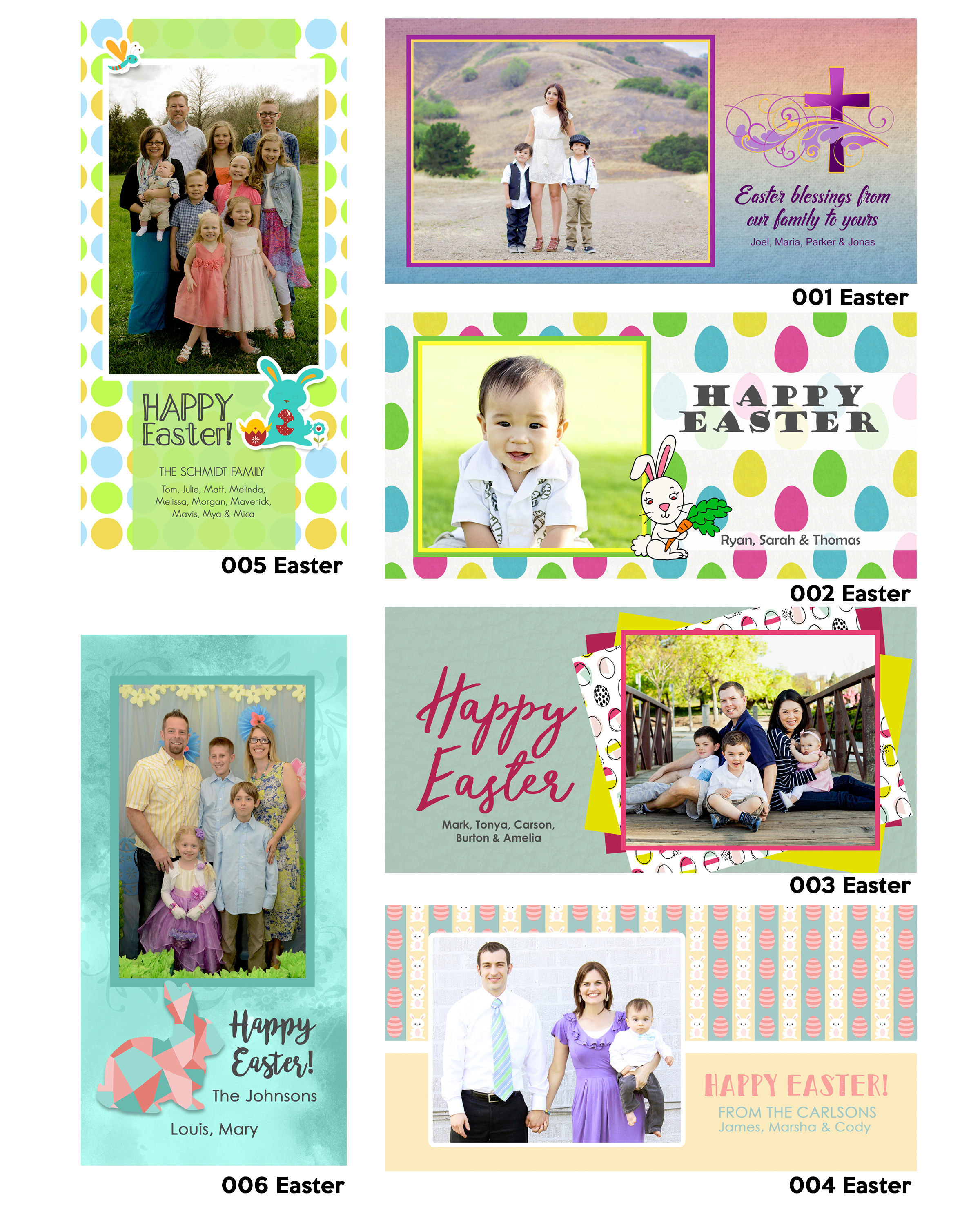 pages for book EASTER
