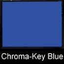 DLC 107in x 12yd Chroma-Key Blue Paper Backdrop