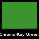 DLC 107in x 12yd Chroma-Key Green Paper Backdrop