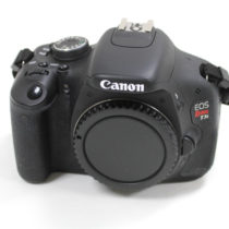 used canon t3i body