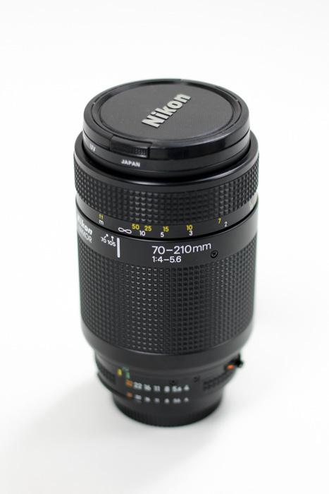 Used Nikon AF Nikkor 70-210mm f/4-5 6 - SCREW DRIVE MOTOR
